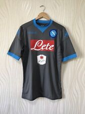 SSC NAPOLI 2015 2016 AWAY FOOTBALL SHIRT SOCCER JERSEY KAPPA PLAYER ISSUE