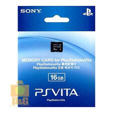 Nueva En Caja Sony 16G 16GB Psvita Playstation PSV PS Vita Tarjeta De Memoria