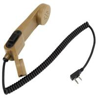 Hand Microphone Handheld Speaker For KENWOOD/BAOFENG Two Way Radio Walkie Talkie