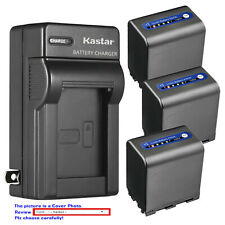 Kastar Battery AC Wall Charger for Sony NP-QM91D Sony Video Walkman GV-D1000