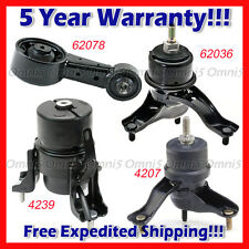M188 Fits 2005-2007 Toyota Avalon 3.5L AUTO Motor & Trans Mount Set 4pcs