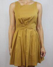 Topshop Cotton Patternless Skater Dresses for Women