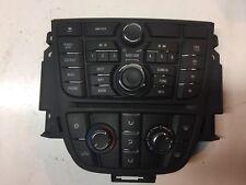 OPEL ASTRA J Radio Estéreo CD AUX Panel de control Navi 600 gm13360093 13435154