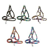 Classic Dog Harness and Lead for Small Medium Large Dogs Cats Chest Harnes  A2C6