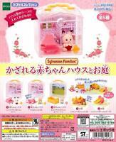epoch Sylvanian Families Baby house and garden Gashapon 5 set mini figure toys