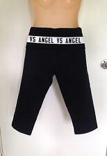 NWT Victoria's Secret Gym Sport Yoga Tight Crop Pants SMALL White VS Angel (B26)