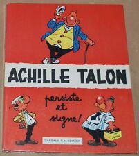 ACHILLE TALON -3-/  Achille Talon persiste et signe ! /EO 1969  /TBE-
