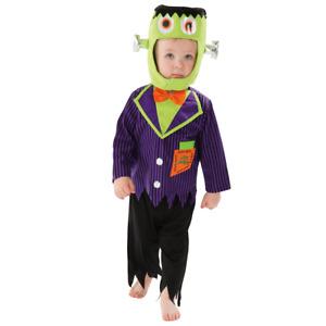 Toddler Frankenstein Costume Halloween Costume Outfit Creepy Girls Kids 1-4Years