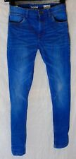 Boys Next Blue Whiskered Denim Adjustable Waist Skinny Leg Jeans Age 10 Years