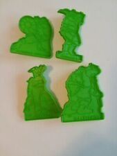 Vintage TMNT Cookies cutters- set 4, used in good condition