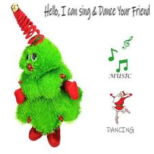 Dancing  Christmas Tree Decoration Stuffed Plush Toy Singing Doll Christmas Gift