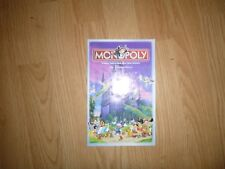 Monopoly Game 2001 Disney Replacement Instructions