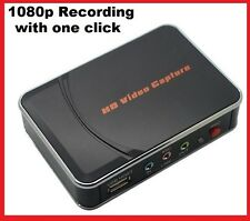 HD video capture1080P HDMI/YPbPr Recorder For XBOX 360 PS3/4 WII U 1080P Record