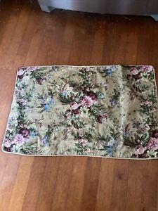 DISCONTINUED  RALPH LAUREN HOME ADRIANA FLORAL STANDARD KING Made In Italy