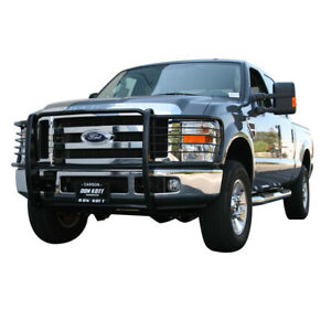 ATU FIT 17-21 Ford F250 F350 F450 550 Super Duty Black Grille Bumper Brush Guard