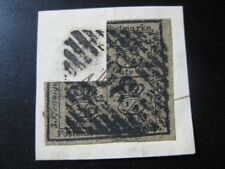 BRAUNSCHWEIG BRUNSWICK GERMAN STATES Mi. #9 scarce used stamp! #1 CV $108.00