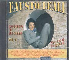 Fausto LEALI RACCOLTA DI SUCCESSI vol.1 (versione originali) RAR!