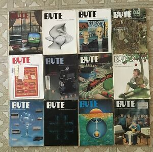 BYTE MAGAZINE~1977, All 12 Issues - nice condition