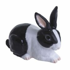 More details for john beswick rabbit (black & white) adorables figurine new in gift box