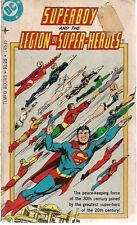 SUPERBOY AND THE LEGION OF SUPER-HEROES (1977) Tempo B&W comics pb G/VG