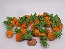 1:12 Scale Single Pineapple Dolls House Miniature Fruit Kitchen Garden Accessory