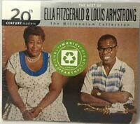 Ella Fitzgerald & Louis Armstrong CD  BEST of Ella & Louis TEN SONG Collection