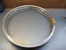 """Borrani NOS Undrilled Wheel Rim WM1-18BAUD Aluminum 40 Spoke 2.25"""" x 18""""   F"""