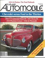 Collectible Automobile Magazine Month Year Vol 8 - No 6