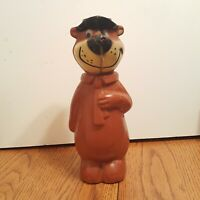 Vintage Yogi Bear Plastic Bank Knickerbocker Hollywood c1960's