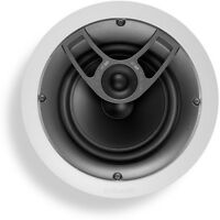 "Polk Audio High Performance In-Ceiling Speaker with 6.5"" Driver in White 