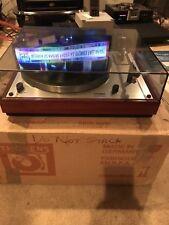 Thorens td-166 mkii Belt Drive Turntable W/grado Cartridge. Excellent condition