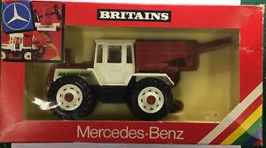 BRITAINS MERCEDES - BENZ TRACTOR  MODEL 9597  -  MINT CONDITION AND ORIGINAL BOX