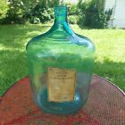 RARE HUGE 5 GAL. Antique  UNITED DRUG CO. OPIUM BOTTLE Apothecary NARCOTIC