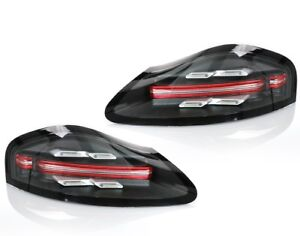Porsche 986 Boxster 718 Style LED Tail Lights (Clear Lens)  New Release !!!