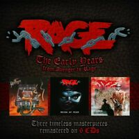 RAGE - THE EARLY YEARS (6CD BOX)  6 CD NEU