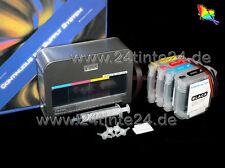 CISS & BOX 580ml inchiostro HP DesignJet 111 ch565a no. 82 BLACK c4836 c4838 c4837 11