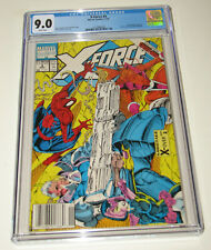 Marvel Comics X-FORCE #4 CGC 9.0 Spider-Man Appearance