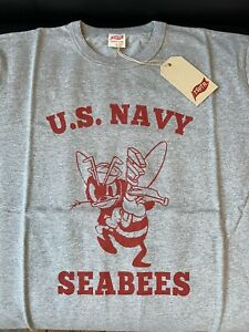 TSPTR Seabees Snoopy T-shirt L