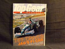 TOP GEAR MAGAZINE ISSUE 82 JULY 2000 TIFF DRIVES THE JAGUAR F1 CAR. MERC C-CLASS