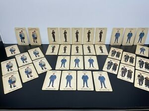 "Rare! 36 Vintage Original 1965 Donruss ""THE ADDAMS FAMILY"" Game Playing Cards"