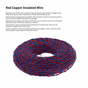 7-Core 28 Core 100m Conductor Wire Coated Insulated Wire Electrical Cable AC300V