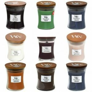 WoodWick Medium 9.7 oz Scented Candles - Select Your Favorites