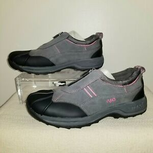 Ryka Womens Shock Doctor Active Ultra Athletic Shoes Gray Walking 7.5W New