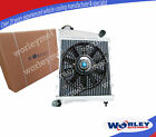 ALUMINUM RADIATOR for AUSTIN MINI/ROVER COOPER/MORRIS ALL MODELS 1967-1991 & FAN