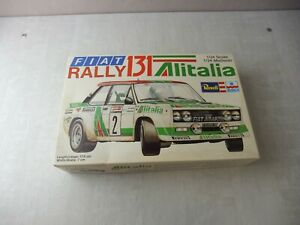 Ancienne maquette voiture, Fiat Rally 131 Alitalia, Revell, 1/24, H-2260