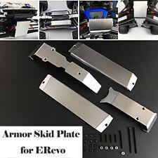Stainless Steel Chassis Armor Skid Plate for 1/10 Traxxas E-Revo E-Revo 2.0
