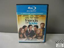 Friends With Kids (Blu-ray Disc, 2012) John Hamm Adam Scott Maya Rudolph