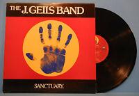 THE J. GEILS BAND SANCTUARY LP 1978 ORIGINAL PRESS GREAT CONDITION! VG+/VG+!!
