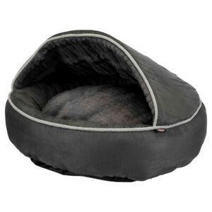 Pet Dog Cat Puppy Bed | Timber Cushion Soft Plush Cave, Washable Cuddly Warmer