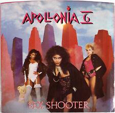APOLLONIA 6~SEX SHOOTER/IN A SPANISH VILLA~POP ROCK~DANCE~45~PIC SLEEVE~NOS~ NM